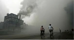 china polluted factory