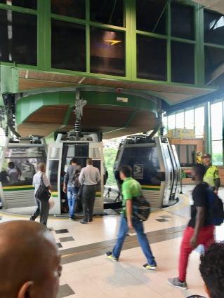 Medellin Metrocable gondola station